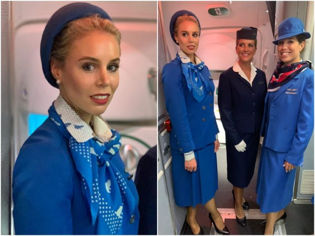 Uniform KLM Royal Dutch Airlines 1975 - 1982 | Beeld: Cliff Muskiet