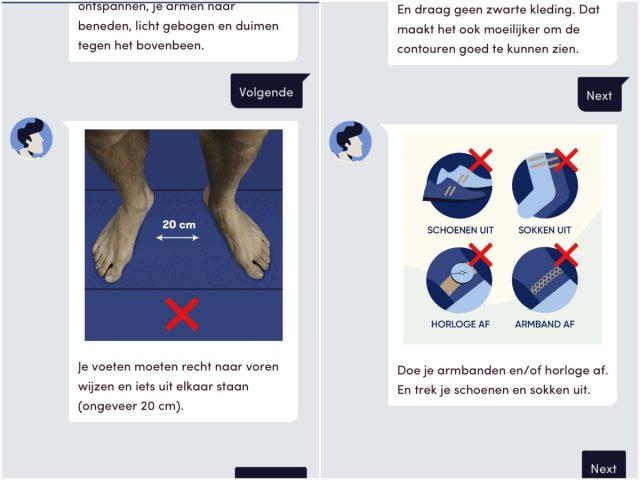 Bedrijfskleding app getest: commotie gebaseerd op onjuistheden