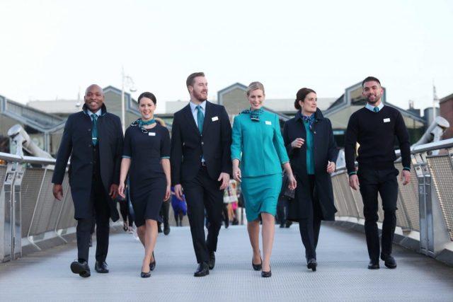 Aer Lingus uniform 2020