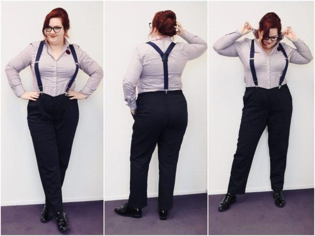 Dit droeg ik op kantoor in januari 2020