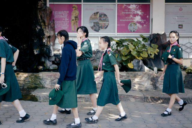 Bestaat er na de pandemie nog een schooluniform?