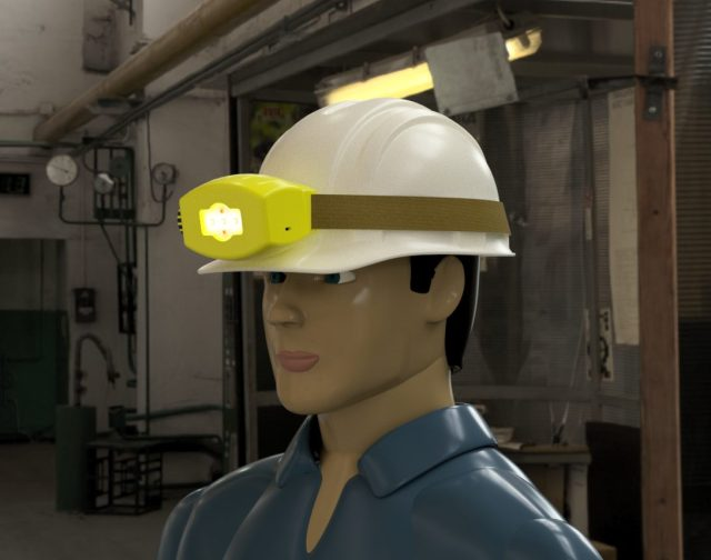 Slimme helm moet werkplek veiliger maken