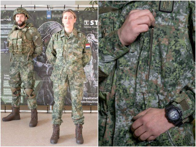 Nederlandse militair krijgt nieuw camouflagepatroon