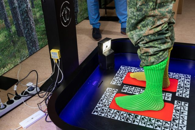 Nieuwe schoenen voor Nederlandse militair