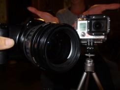 Canon and GoPro Hero