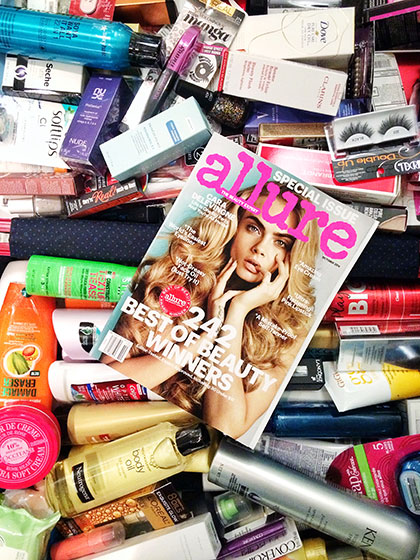 Allure august giveaway
