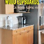 How To Refinish Wood Cabinets
