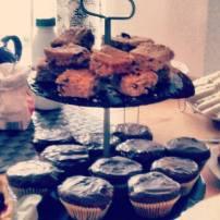 Flapjacks / Chocolate Muffin