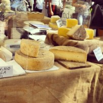 Cheese, so much cheese. Pecorino, Scarmorza, Grana, Mozzarella…my fridge is now a happy fridge!)