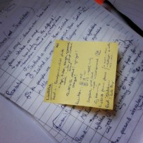 postit planning