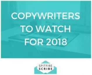 Copywriters to watch for - 2018