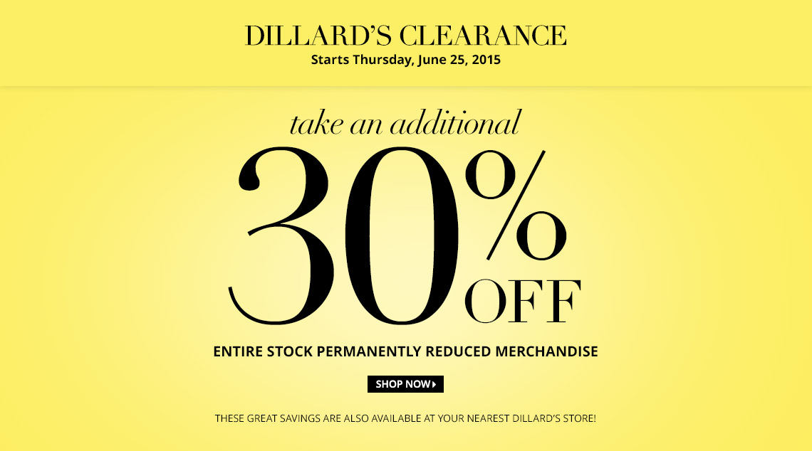 Next When Sale Dillards
