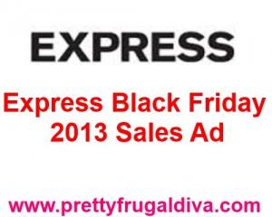Express black friday 2013