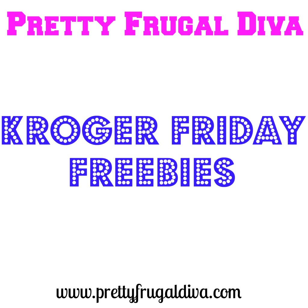 Kroger Friday Freebie 4/4