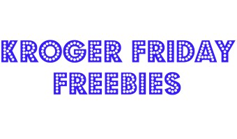 Kroger Friday Freebie 1/2