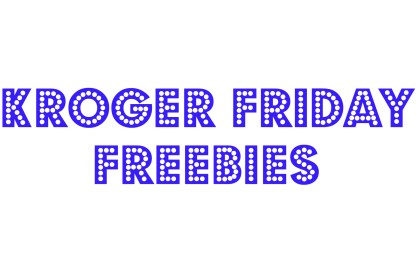 kroger friday freebies