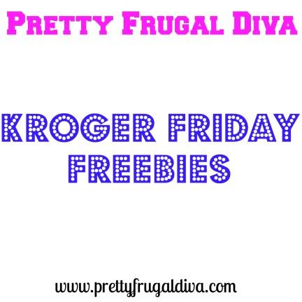 kroger friday freebies