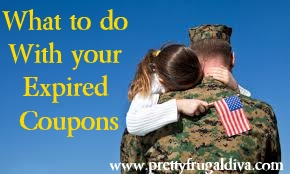 expired coupons for military families
