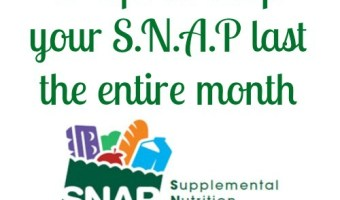 5 tips to help SNAP