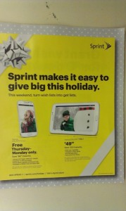 sprint black friday ad