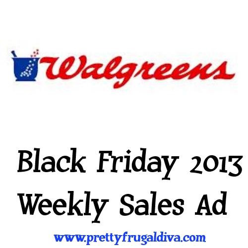 Walgreens Black Friday 2013 Sales Ad