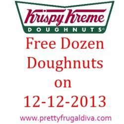 Krispy Kreme Dozen Doughnuts
