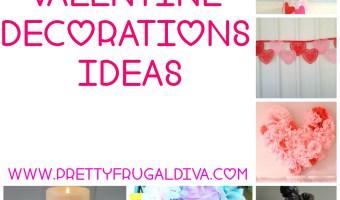 9 Frugal DIY Valentine Home Decor