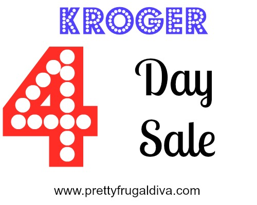 Kroger 4 Day Sale 2/19 – 2/22