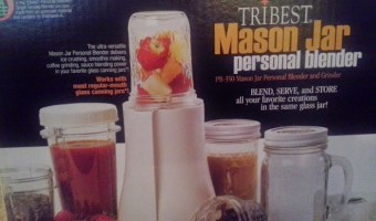 Review: Personal Blender Mason Jar Version by Tribest