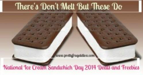 free ice cream sandwhich