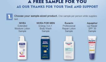Free Nivea Sample