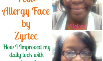 Sponsored Post: Allergy Face by Zrytec: Makeup tips by Jackie Gomez