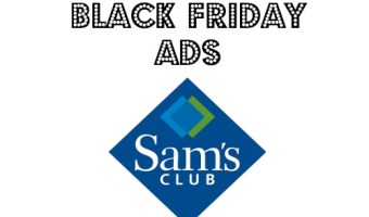 Sams Club 2014 Black Friday Sales Ad