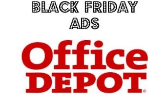 Office Depot / Office Max Black Friday 2014