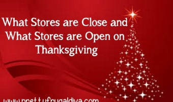What Stores are Open and What Stores are Closed on Thanksgiving