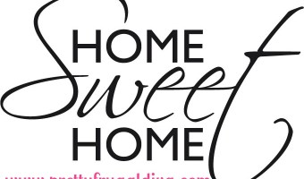 Personal: Home Sweet Home