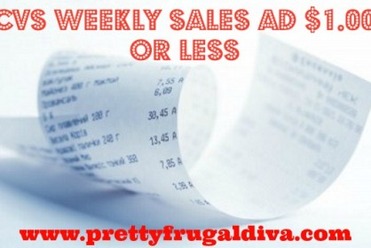 Cvs weekly Sales ad