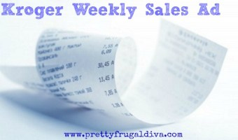 Kroger Weekly Sales 1/2 – 1/6