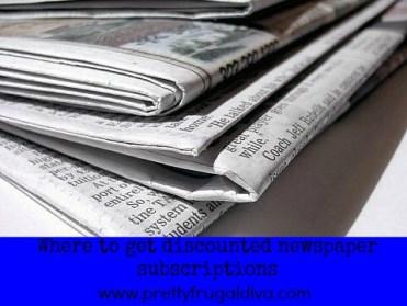 newspaper subcription