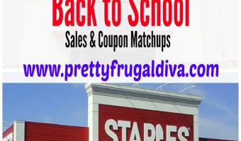 Staples & Office Depot Back to School Weekly Sales 7/5 – 7/11