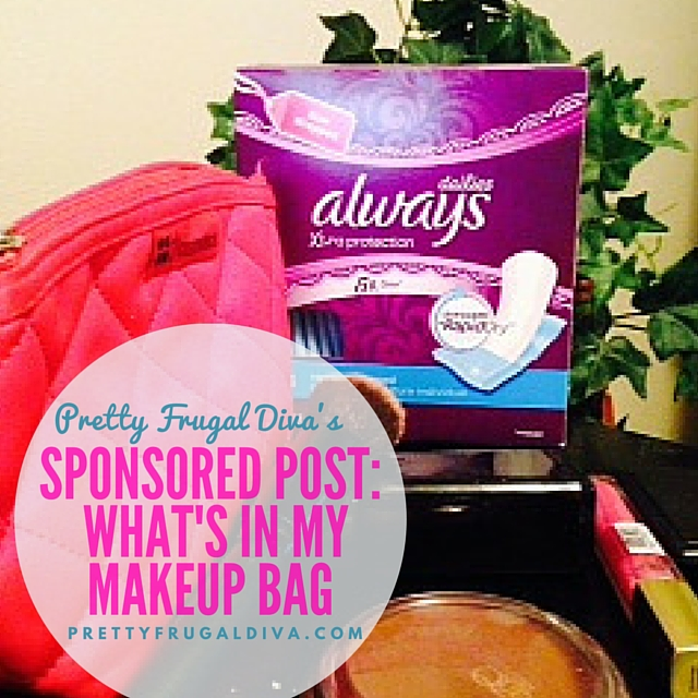 Sponsored Post: What's In My Makeup Bag
