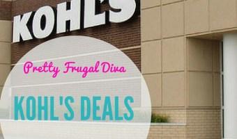 kohls deals
