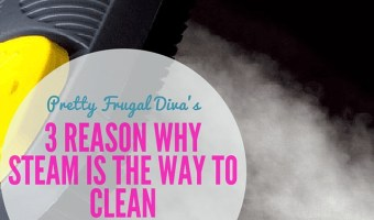 3 Reasons why steam is the way to clean