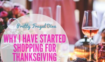 Why I Have Already Started Shopping for Thanksgiving