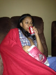 movie night with teen