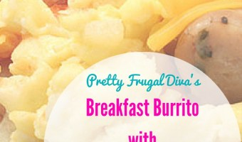 Chicken Sausage Breakfast Burritos