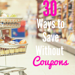30 ways to save without coupons