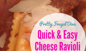 Easy Cheese Ravioli Recipe