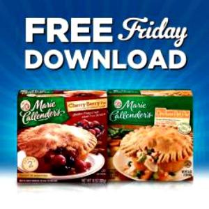 Kroger Friday Freebie Marie Callendar Pie