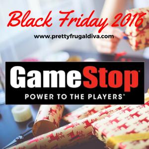 2016 Gamestop Black Friday